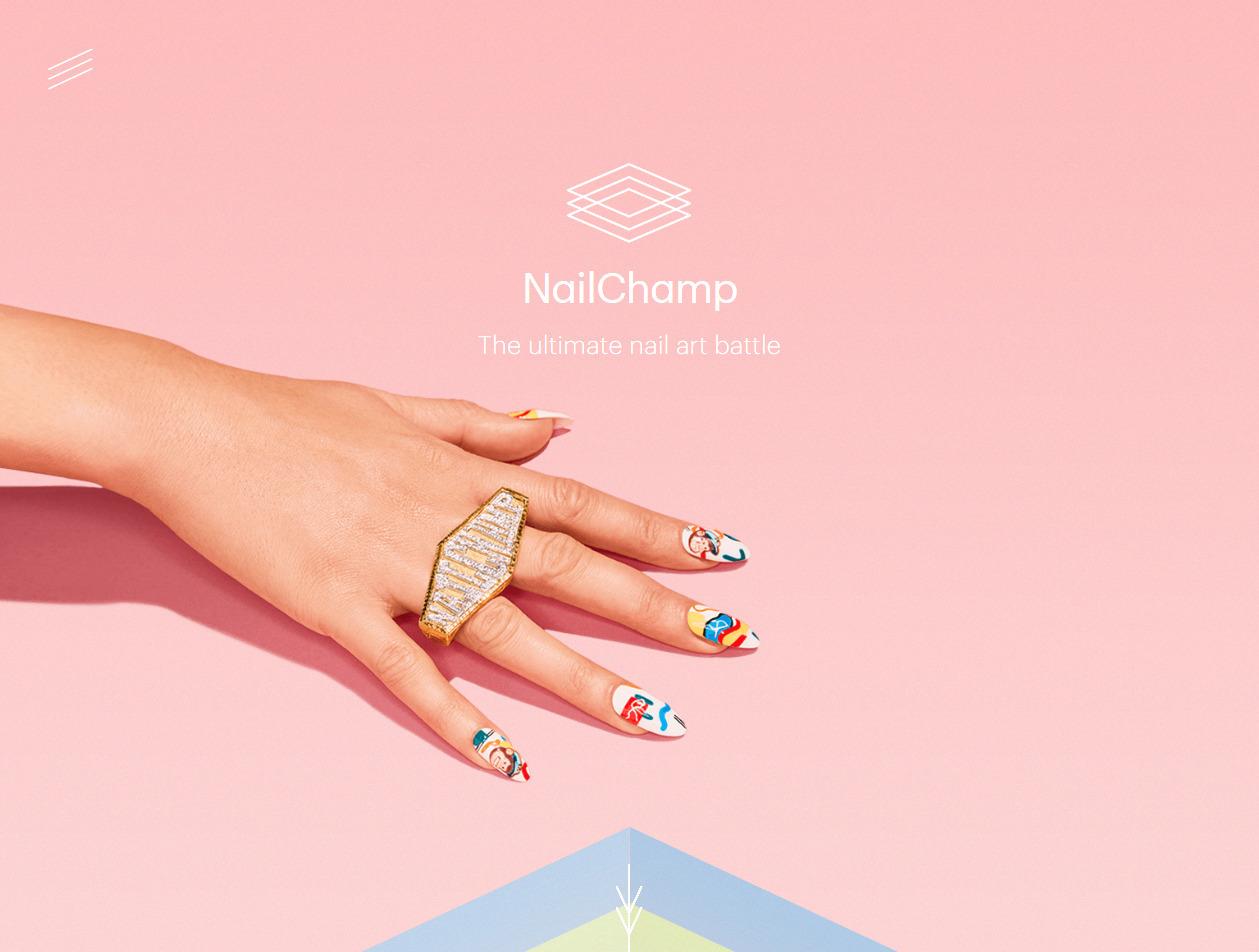 Nailchamp The Ultimate Nail Art Battle Straightline Bookmark